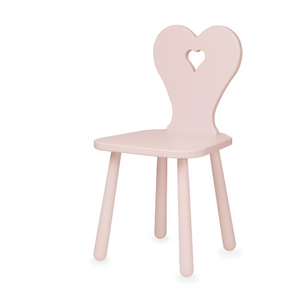 CamCam heart kids chair - Blossom pink