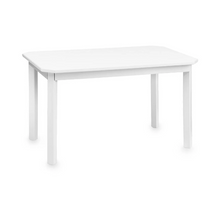 Image in Gallery view drawers, CamCam harlequin children's table - White