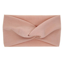 Load image into Gallery view, Haarband knotted - Pink