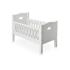 CamCam harlequin doll bed - White