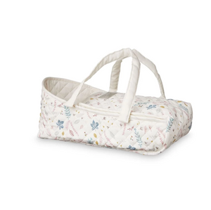 CamCam dolls travel cot - Pressed leaves rose