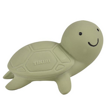 Load image into Gallery view, Tikiri bath toy with bell - Turtle