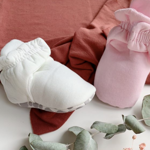 Booties with Velcro - Different colors