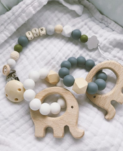 Load image into Gallery view, Teether made of silicone - Different colors