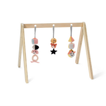 Load image in Gallery view, Kid & NEO wooden baby gym concept - Natural