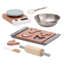 Loading image in gallery view, Kid's Concept bistro wooden biscuit baking set