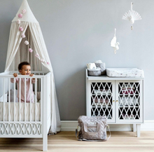 Load image into Gallery view, Cam Cam Copenhagen bed canopy - Light sand
