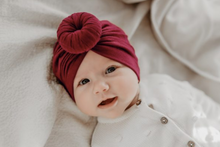 Load image in Gallery view, Turban hat - Wine