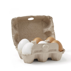 Kid's Concept bistro wooden eggs (6 pieces)