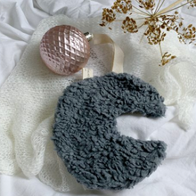 Load image in Gallery view, Pacifier - moon teddy dark gray