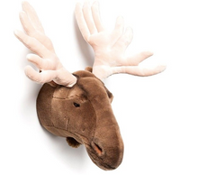 Laden Sie das Bild in die Galerie-Ansicht, Wild & Soft Animal Head - Moose