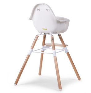 Childhome Evolu 2 chair - natural / white