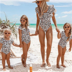 LEOPARD SWIMSUIT - MOMMY