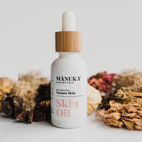 Skin Oil for Mature Skin | Manuka Essentials | The Natural Choice