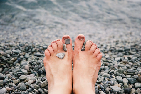 Image source: https://www.pexels.com/photo/stones-on-woman-s-feet-1274061/
