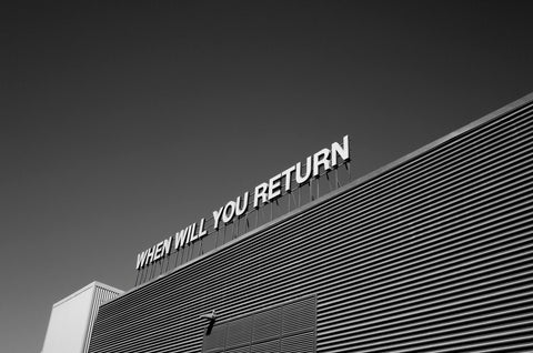 """When will you return?"" - photo from Pexels.com"
