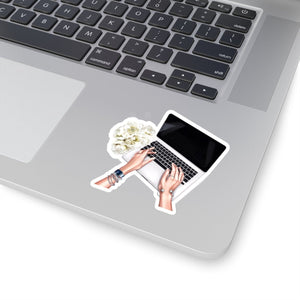 Self Made Laptop Light Skin Vinyl Sticker Decal