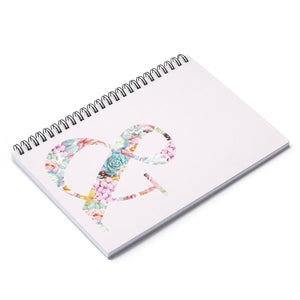 Succulent Ampersiand Spiral Notebook - Ruled Line