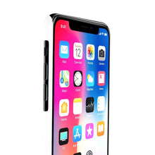 Load image into Gallery viewer, iPhone X Flowers in Her Hair Light Skin Black Hair Case Mate Slim Phone Cases