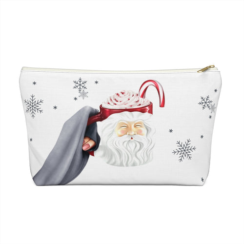 Hot Cocoa and Hallmark Accessory Pouch with T-bottom - Pencil Case