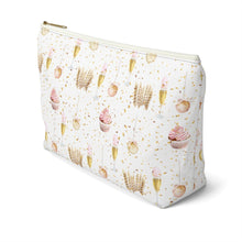 Load image into Gallery viewer, Lets Celebrate Accessory Pouch with T-bottom - Pencil Case