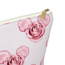 Load image into Gallery viewer, Mickey Roses Accessory Pouch with T-bottom - Pencil Case