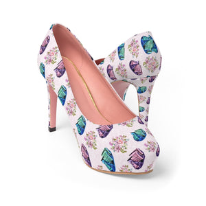 Wonderland Ride Disney Women's Platform Heels