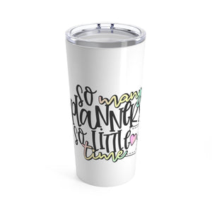 So Many Planners Coffee Tumbler 20oz