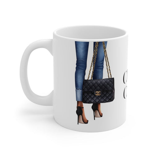 Culture Of Couture Dark Skin Mug - Planner Press Designs
