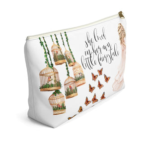 Fairytale Light Skin Blonde Hair Accessory Pouch with T-bottom - Pencil Case