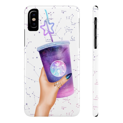 iPhone X Galaxy Drink Light Skin Case Mate Slim Phone Cases