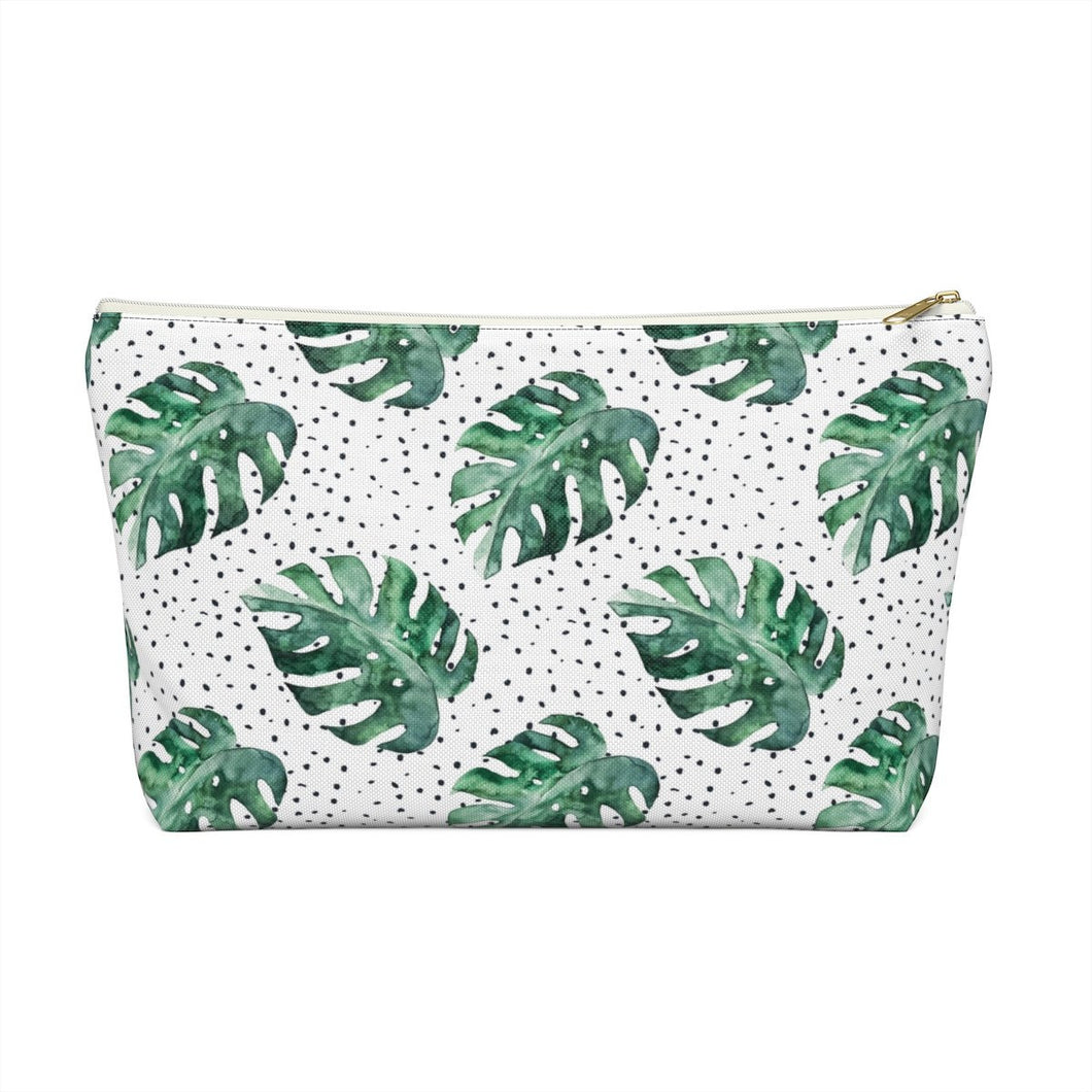 Tropical Bliss Accessory Pouch with T-bottom - Pencil Case