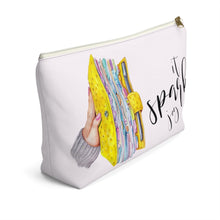 Load image into Gallery viewer, It Sparks Joy Planner Accessory Pouch with T-bottom - Pencil Case