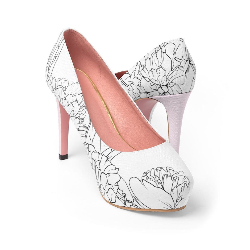 Be Anything But Predictable Platform High Heels - Planner Press Designs