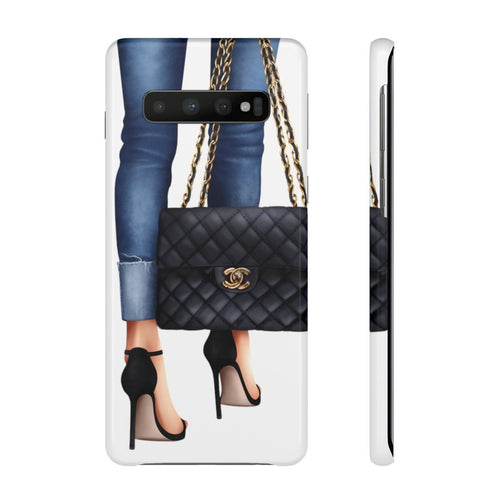 Couture Light Skin Samsung S10's Snap Cases - Planner Press Designs
