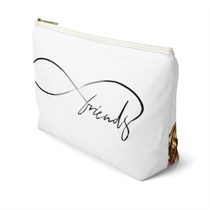 Friends Forever Accessory Pouch with T-bottom - Pencil Case