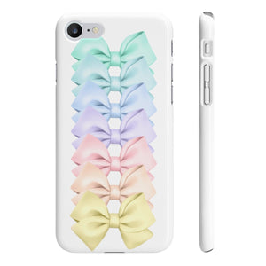 Bow Stack iPhone Case - Protective Phone Cover - Planner Press Designs