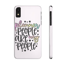 Load image into Gallery viewer, iPhone X Planner People Are My People Case Mate Slim Phone Cases