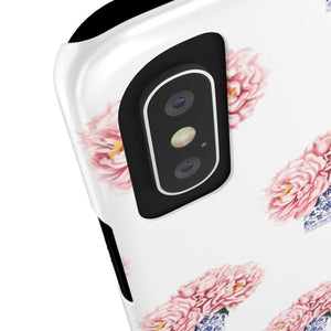iPhone X Peonies In Vases Case Mate Slim Phone Cases