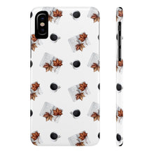 Load image into Gallery viewer, iPhone X Coffee Break Case Mate Slim Phone Cases