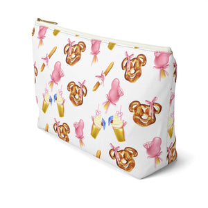 Disney Snack Goals Accessory Pouch with T-bottom - Pencil Case - Planner Press Designs