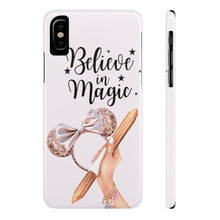 Load image into Gallery viewer, iPhone X Believe In Magic Light Skin Case Mate Slim Phone Cases