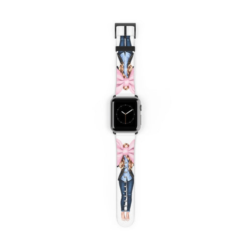 I Like Big Bows Lights Skin Red Hair Watch Strap - Apple Watch Replacement Watch Band