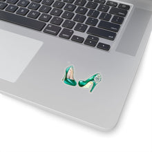 Load image into Gallery viewer, Emerald Shoes Vinyl Sticker Decal - Planner Press Designs
