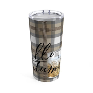 Hello Autumn Tumbler 20oz - Planner Press Designs