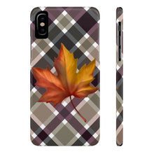Load image into Gallery viewer, iPhone X Autumn Is Here Case Mate Slim Phone Cases