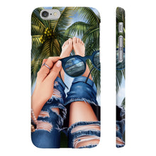 Load image into Gallery viewer, Summer Beach Vibes - Light Skin iPhone Case - Protective Phone Cover