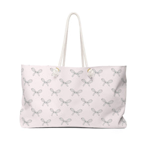All The Bows Weekender Bag - Weekend Tote Bag - Planner Press Designs