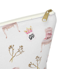 Load image into Gallery viewer, Girl Boss Office Essentials Accessory Pouch with T-bottom - Pencil Case