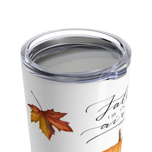 Load image into Gallery viewer, Fall is in the Air Tumbler 20oz - Planner Press Designs
